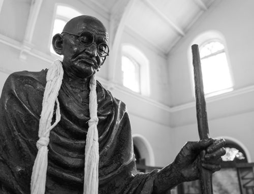 The need of Gandhi in a changing world. P. Rühe
